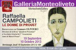 Le donne di Proust di Raffaella Campolieti al Casino Vernier di Venezia
