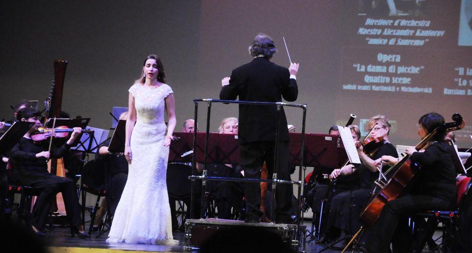 "Successo dell'Orchestra Sinfonica"" Klassika"" di San Pietroburgo diretta dal  Maestro Alexandr Kantorov"