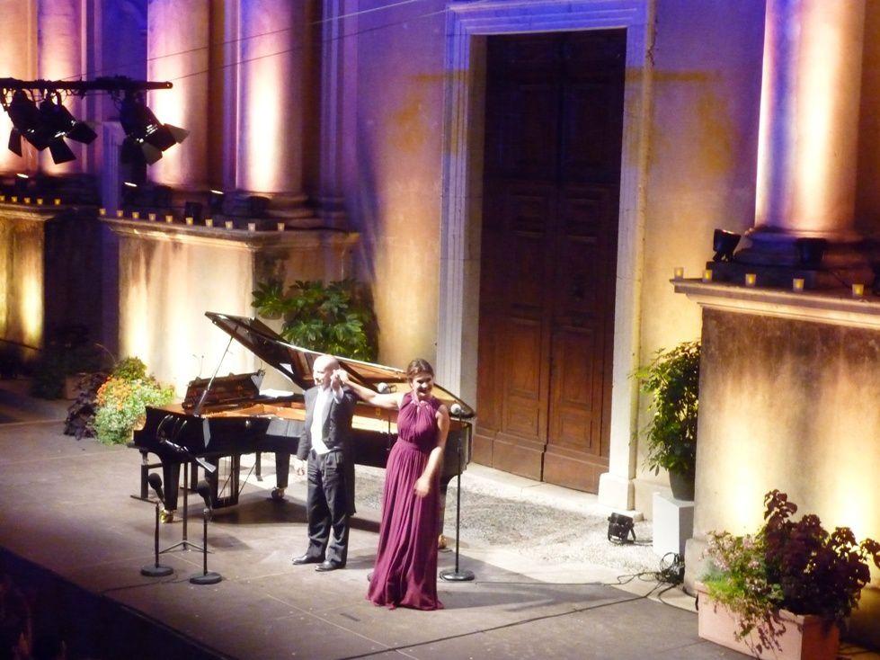 Récital di OLGA PERETYATKO al Festival de Musique di Mentone