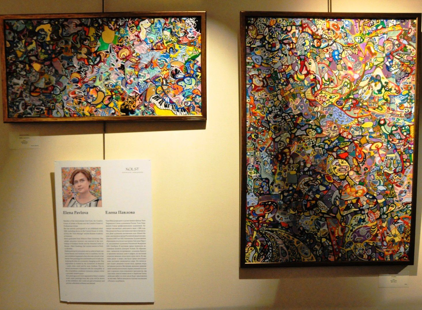 La Galerie Maison d'Art accueille l'exposition « Tête-à-Tête » du 12 au 22 septembre 2015 dans le cadre de l'année de la Russie à Monaco.