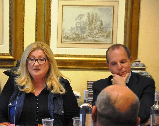 Liana Marabini e Massimo Lavezzo Cassinell