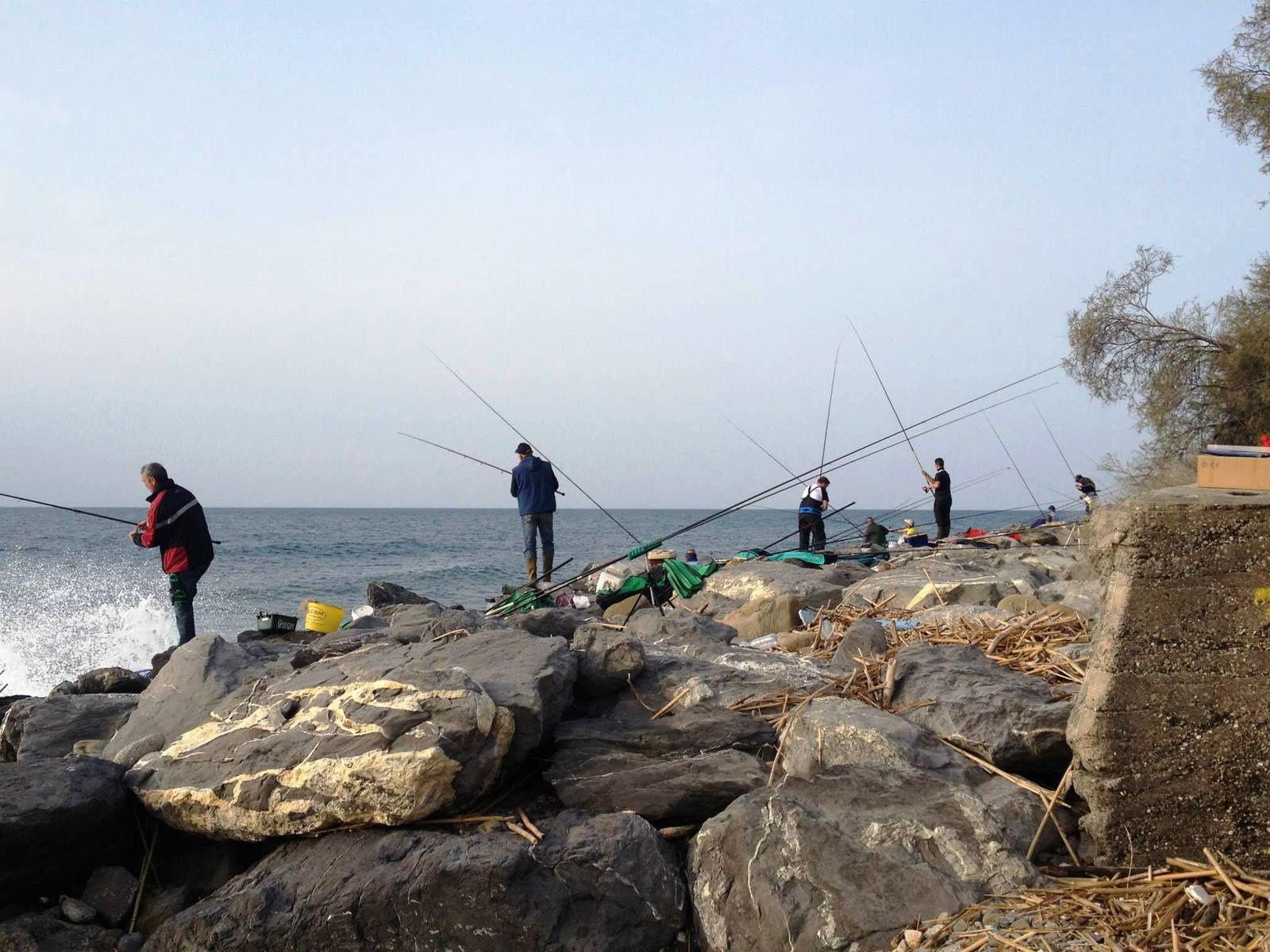 Menton:9e Championnat d'Europe de pêche au flotteur de bord de mer