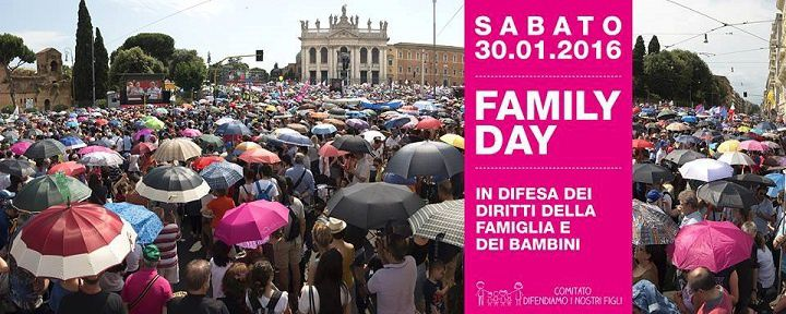 Family Day 2016 a Roma.