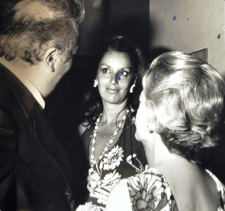 Ljuba Rizzoli tra Federico Fellini e Giulietta Masina