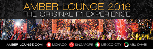 Amber Lounge, the world renowned Day &amp&#x3B; Night F1 party will again make the 2016 Grand Prix
