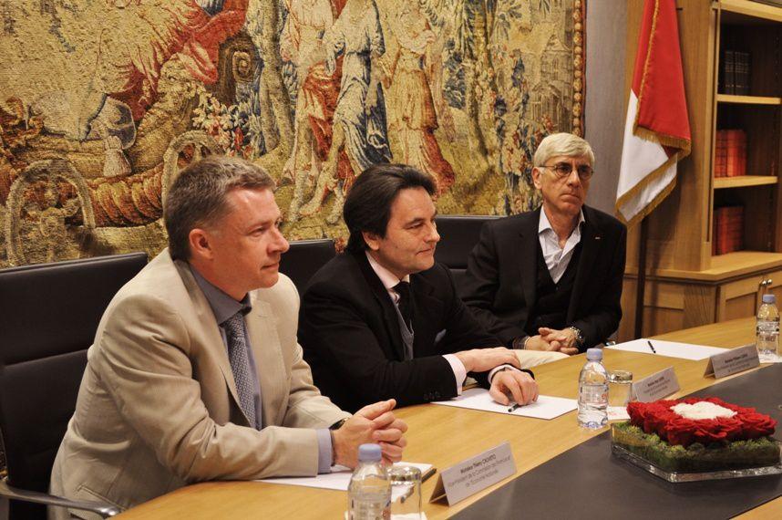 Thierry CROVETTO,Marc BURINI et  Philippe CLERISSI