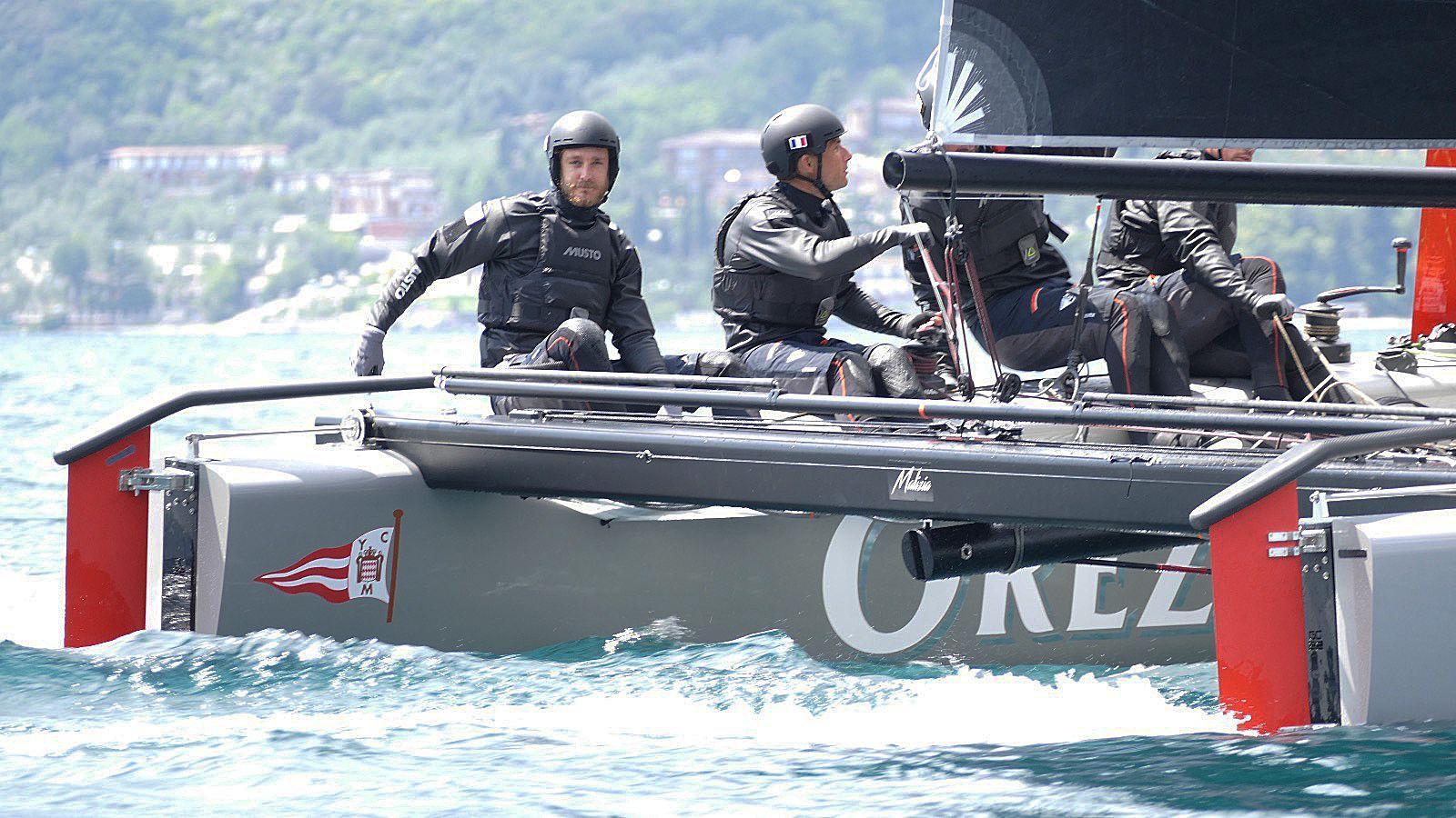 Yacht Club de Monaco: Malizia, le nouveau GC32 barré par Pierre Casiraghi