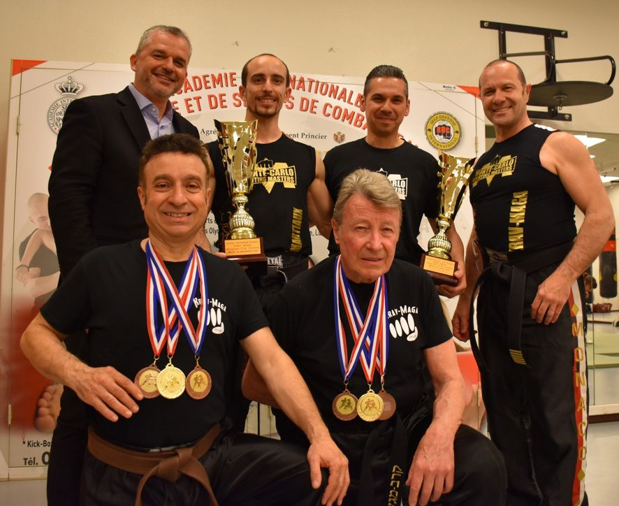 L'Académie Internationale d'Arts Martiaux de Monaco, Vice-Championne de France Elite