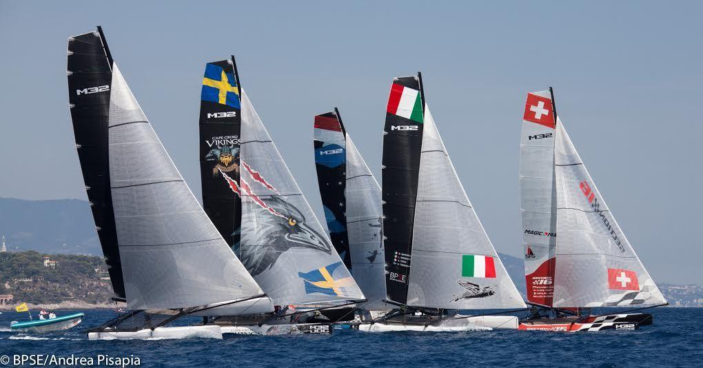 Yacht Club de Monaco - M32 Mediterranean Series : six manches à tire-d'aile !