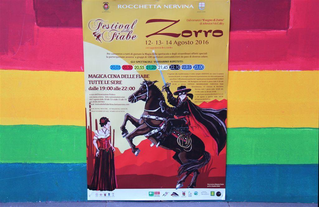 14ème Edition du Festival des Fables à Rochetta Nervina