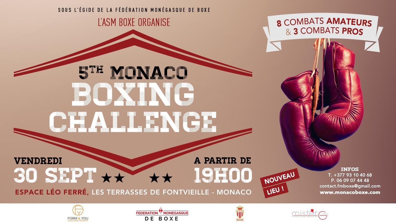 5TH MONACO BOXING