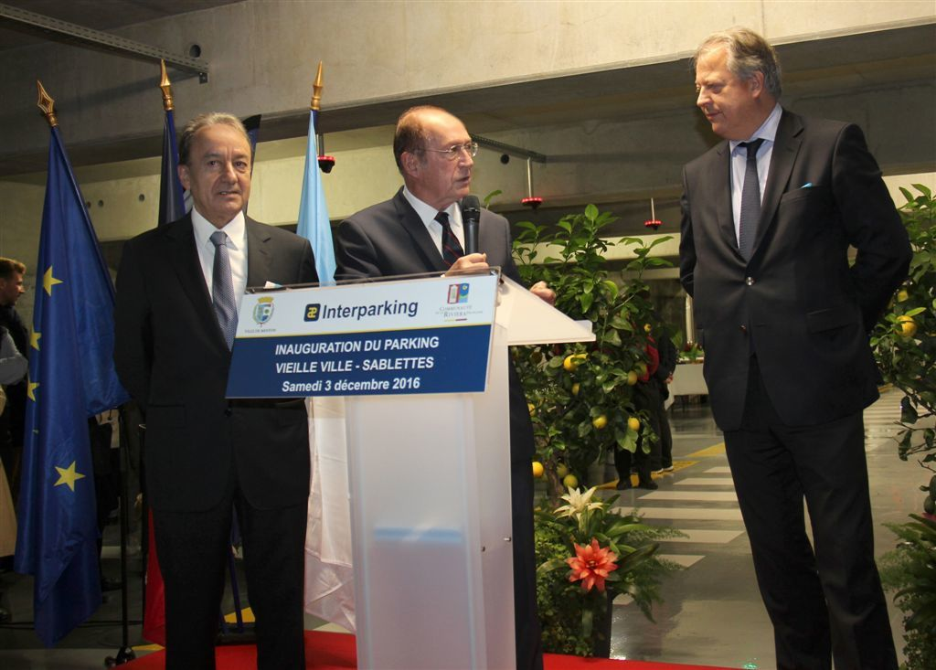 INAUGURATION DU PARKING DES SABLETTES