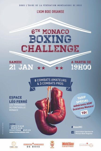 6TH MONACO BOXING CHALLENGE