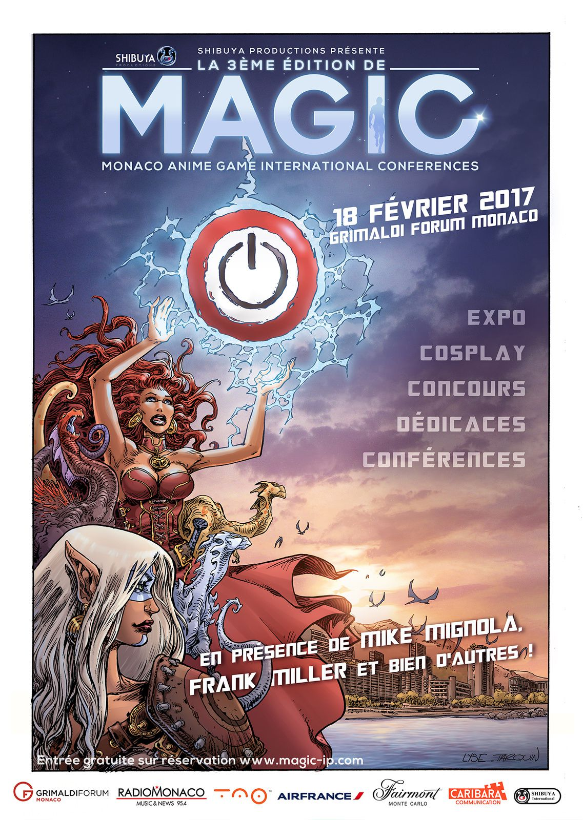 GRIMALDI FORUM- MAGIC: Monaco Anime Game International Conferences - le 18 février