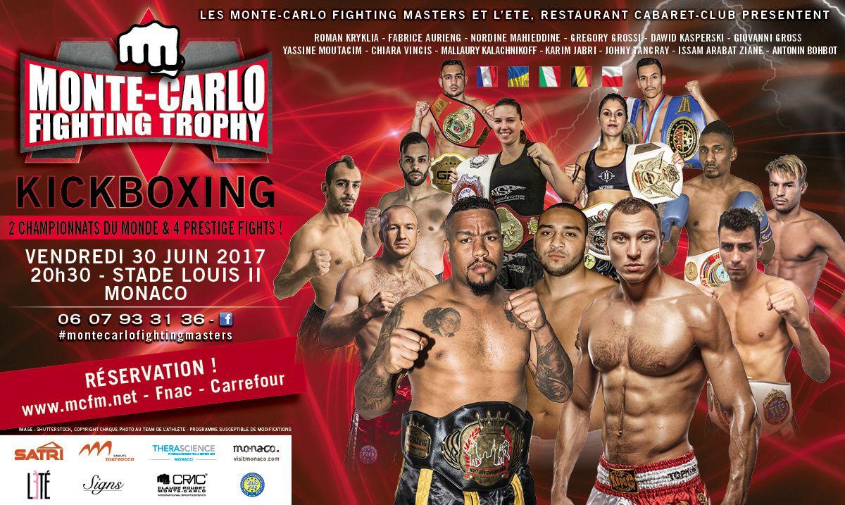 Monte-Carlo Fighting Trophy : Du Super Lourd, le 30 juin prochain !
