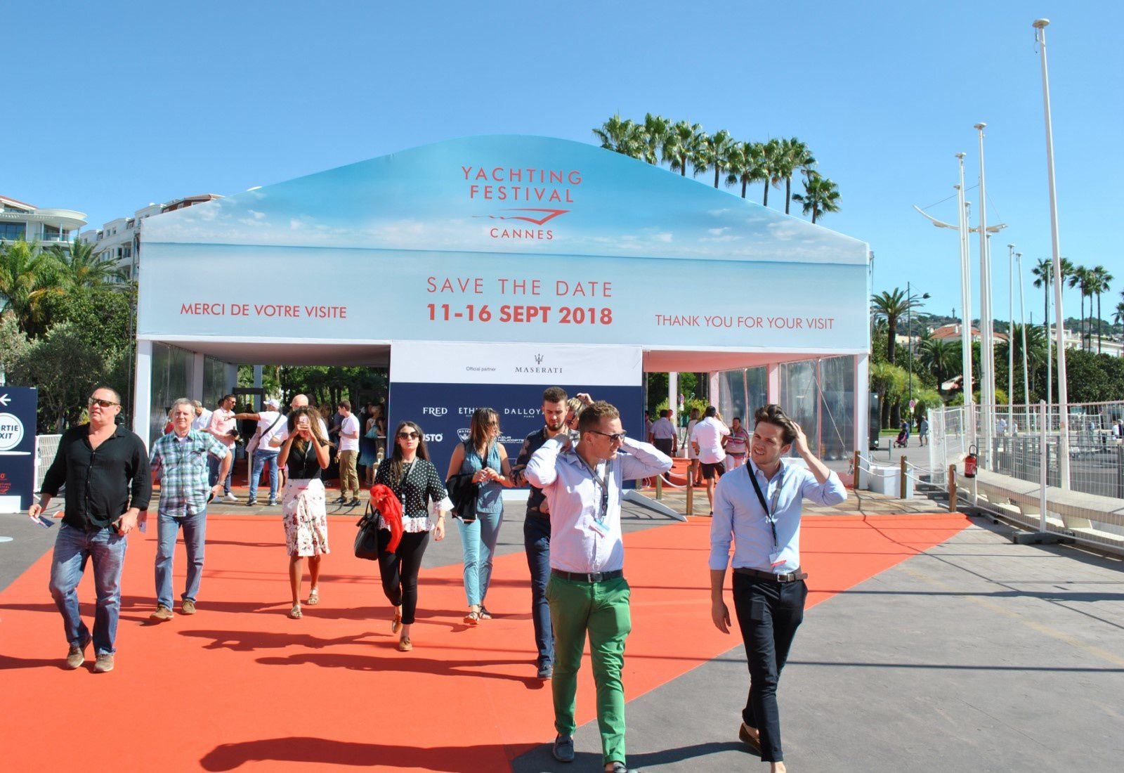 Cannes yachting festival 2017 royal monaco riviera issn for Salon nautique cannes 2017