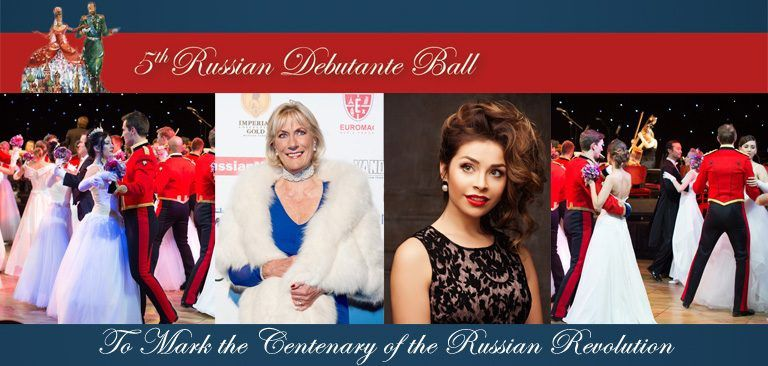 ROYAL MONACO VIP  GUEST TO RUSSIAN DEBUTANTE BALL IN LONDON