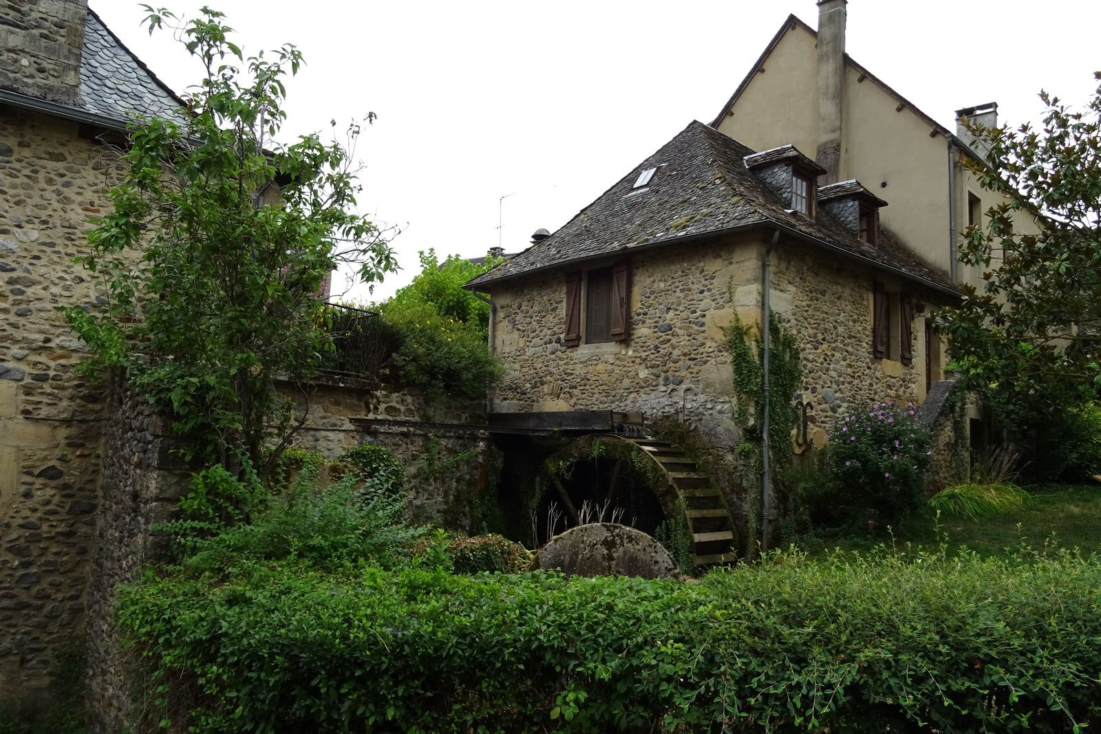 L'ancien moulin.