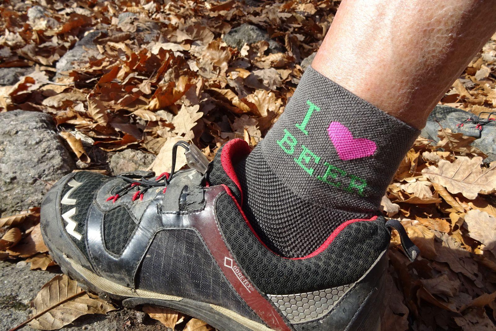 """Mais ce sont elles qui ont fait """"le buzz"""" sur le blog cette année, les chaussettes à Nanard !"""