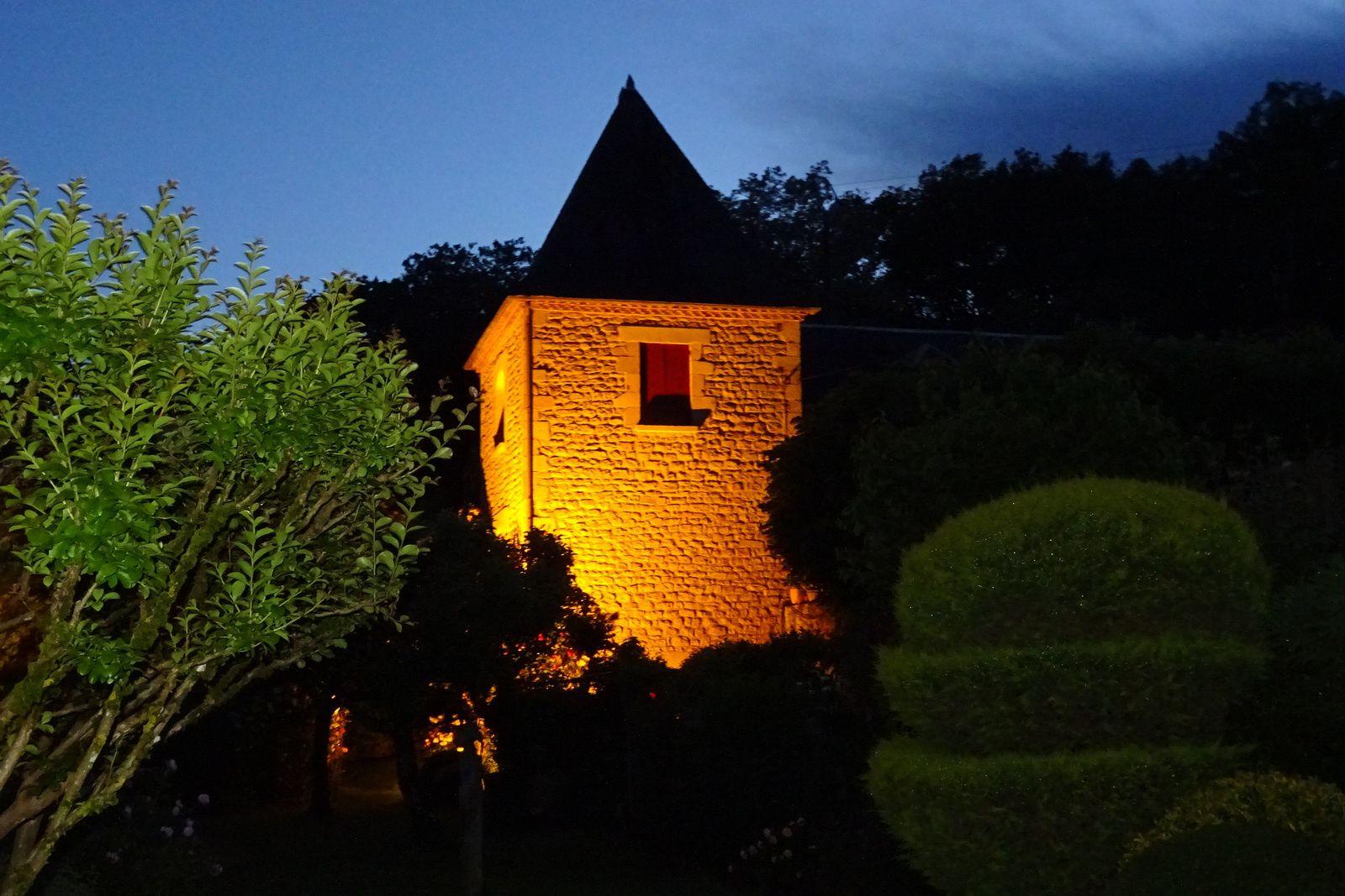 Première étape Rocamadour-La Roque Gageac, terminée. Bonne nuit.