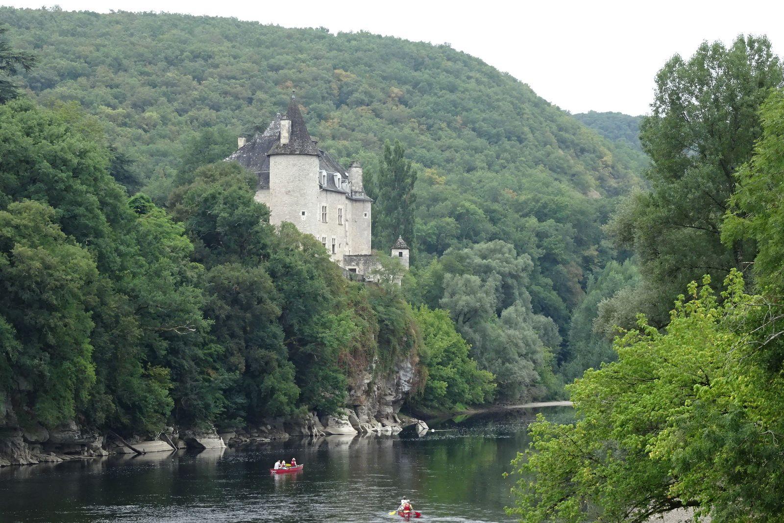 Le château de la Treyne.