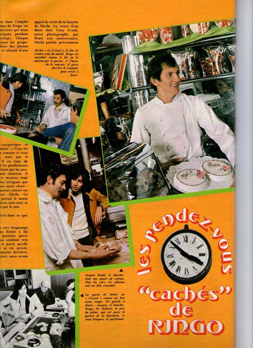 Ringo dans le Hit Magazine de Juillet 1973 - bis-