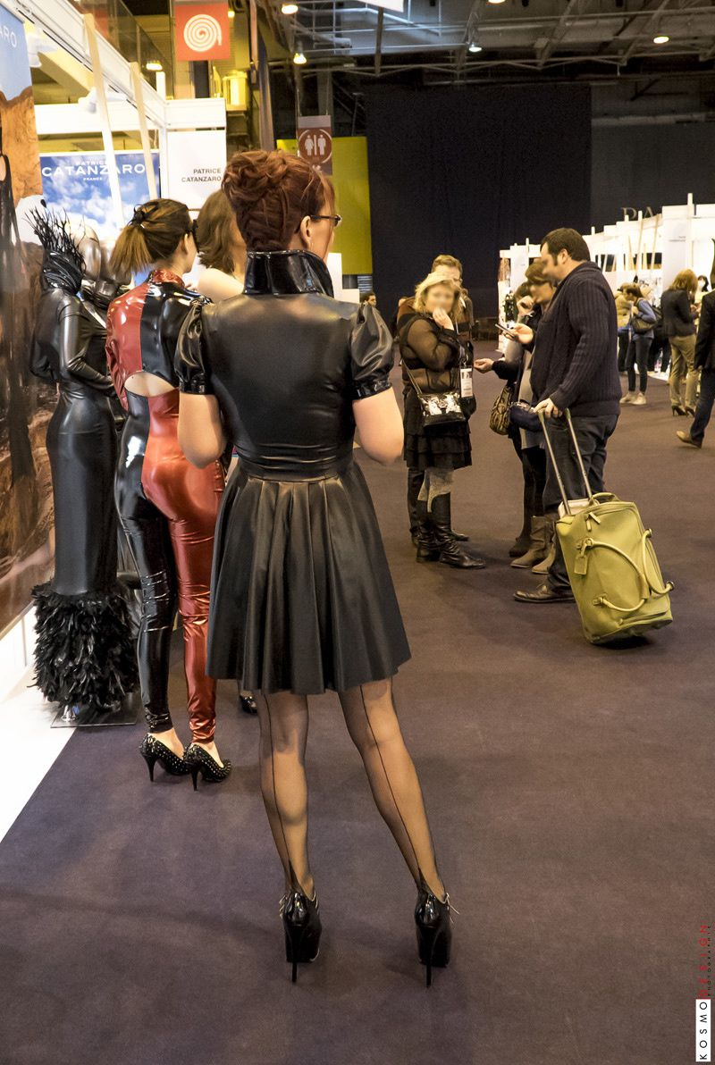 Lescarpin & Klemence Sweet Tooth - Stand Salon Internationnal de la lingerie Patrice Catanzaro