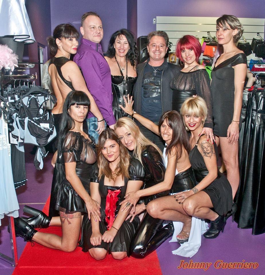 Patrice Catanzaro, Aude Catanzaro et toute l'équipe de la boutique Hot and Sexy