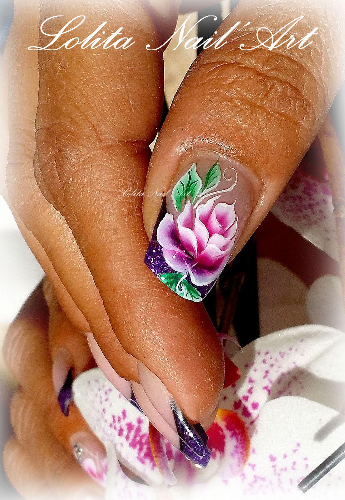 Fleurs One Stroke...