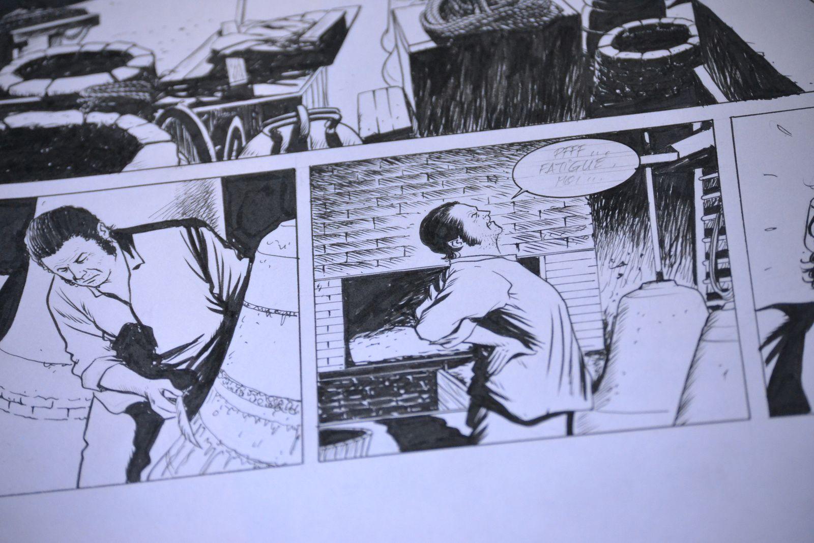 Les Maîtres-Saintiers tome 2, avancement des travaux et dédicaces...