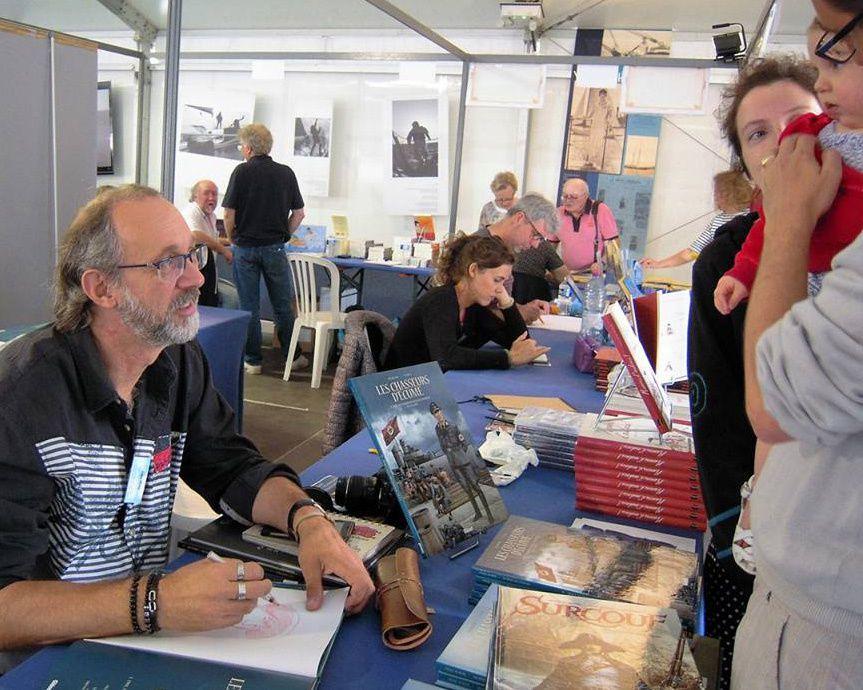 Salon du livre de mer de Noirmoutier...