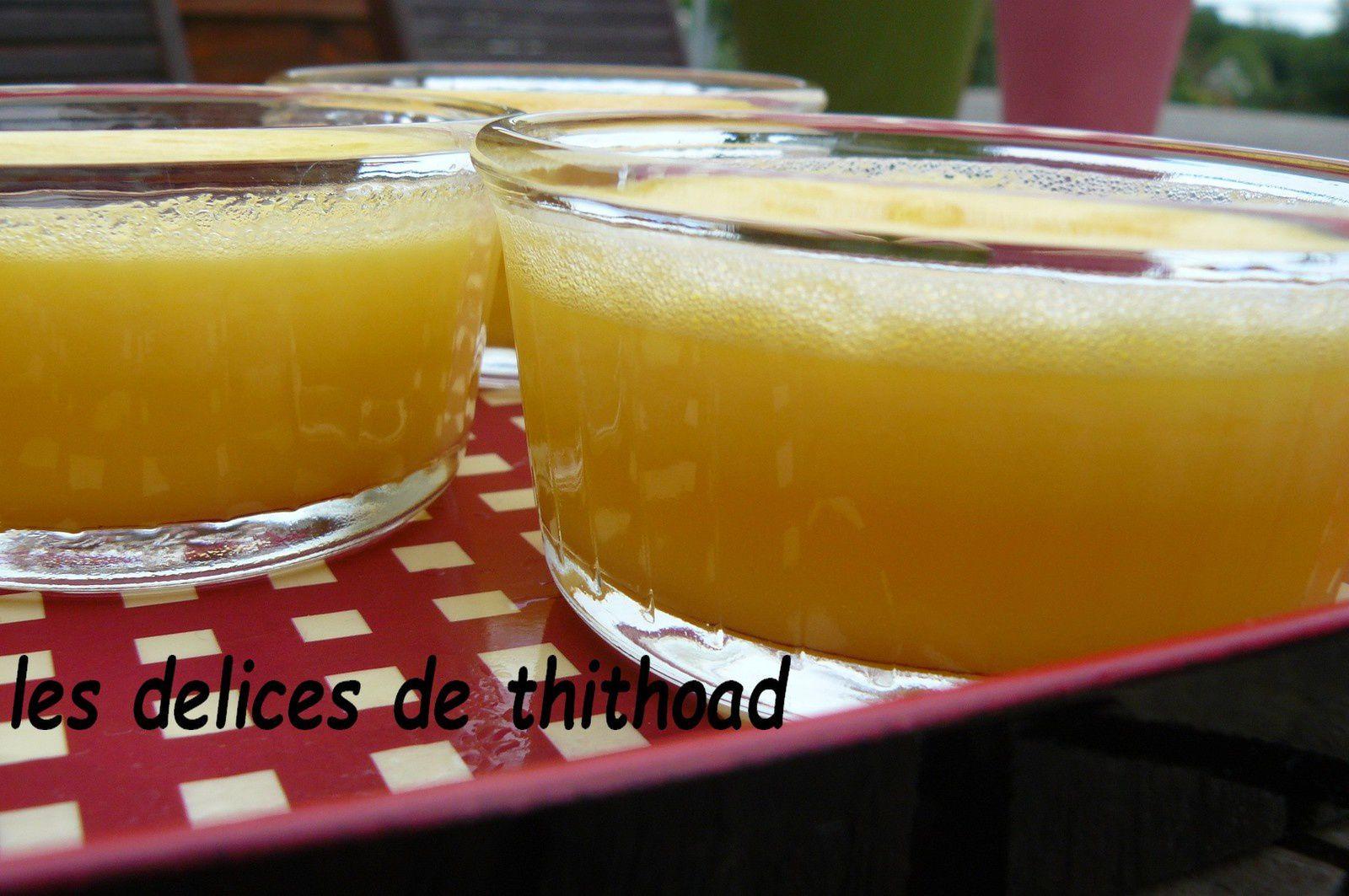 petits pots de crème au citron