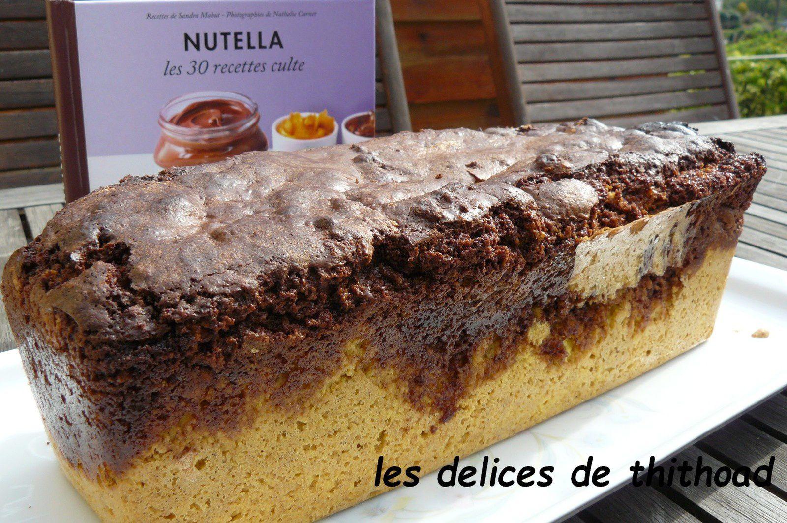 gâteau marbré au nutella®
