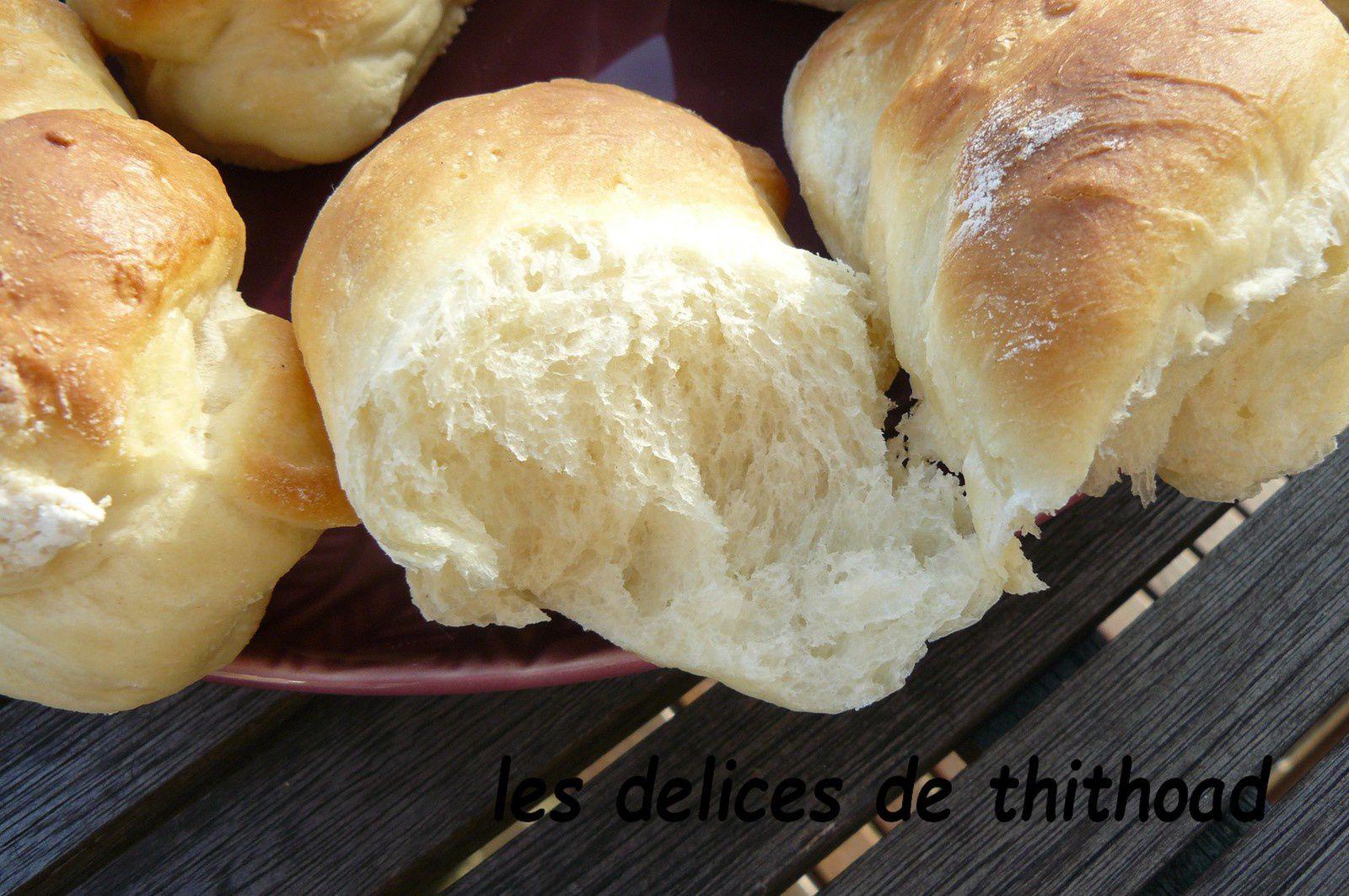 petits pains au lait pour une escapade en cuisine