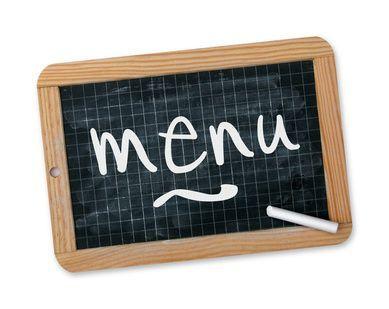 menus pour une semaine pour 4 personnes