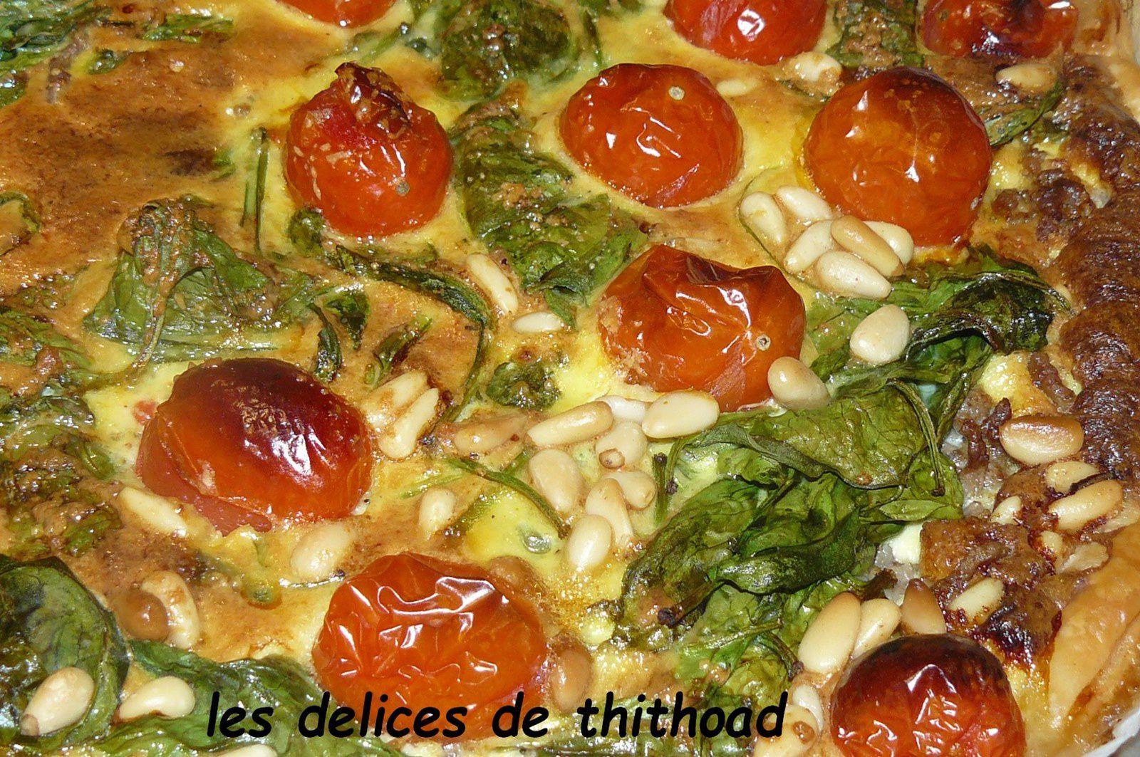 tarte italienne au boeuf haché