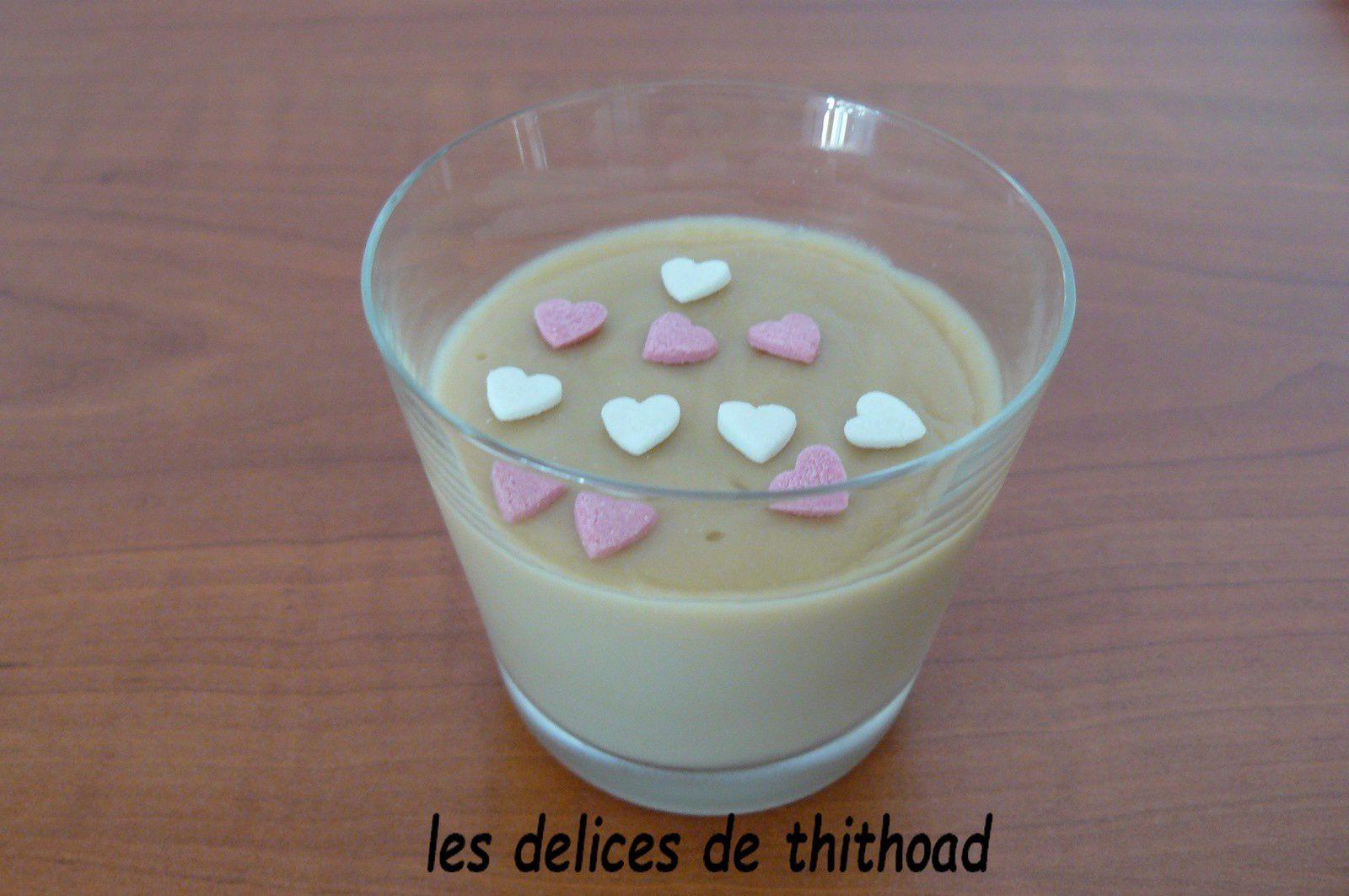 crème rapide goût spéculoos