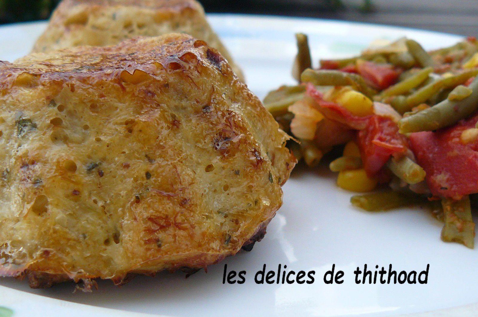 pains de poisson aux épices à couscous