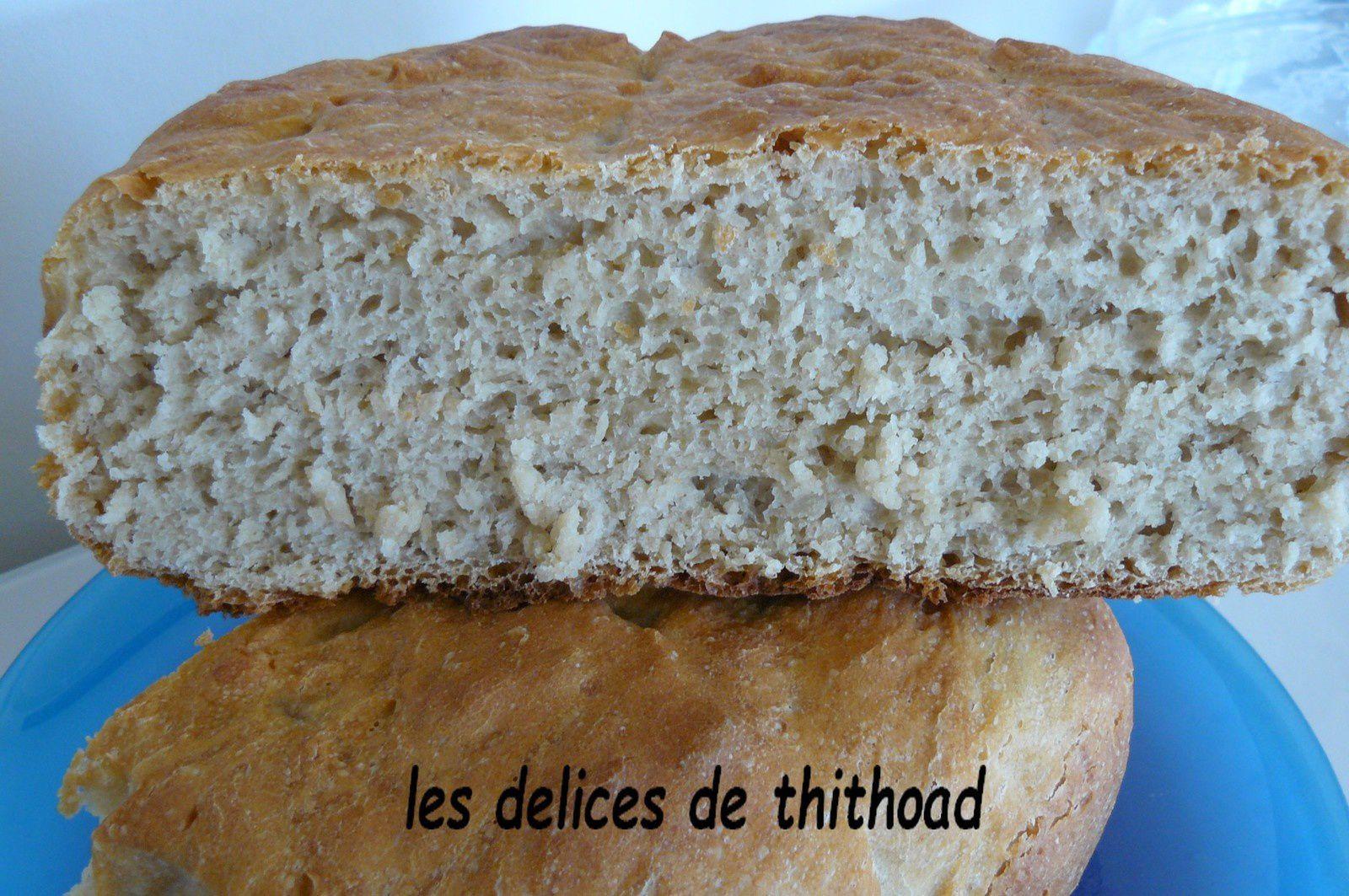pain d'épeautre à la cocotte