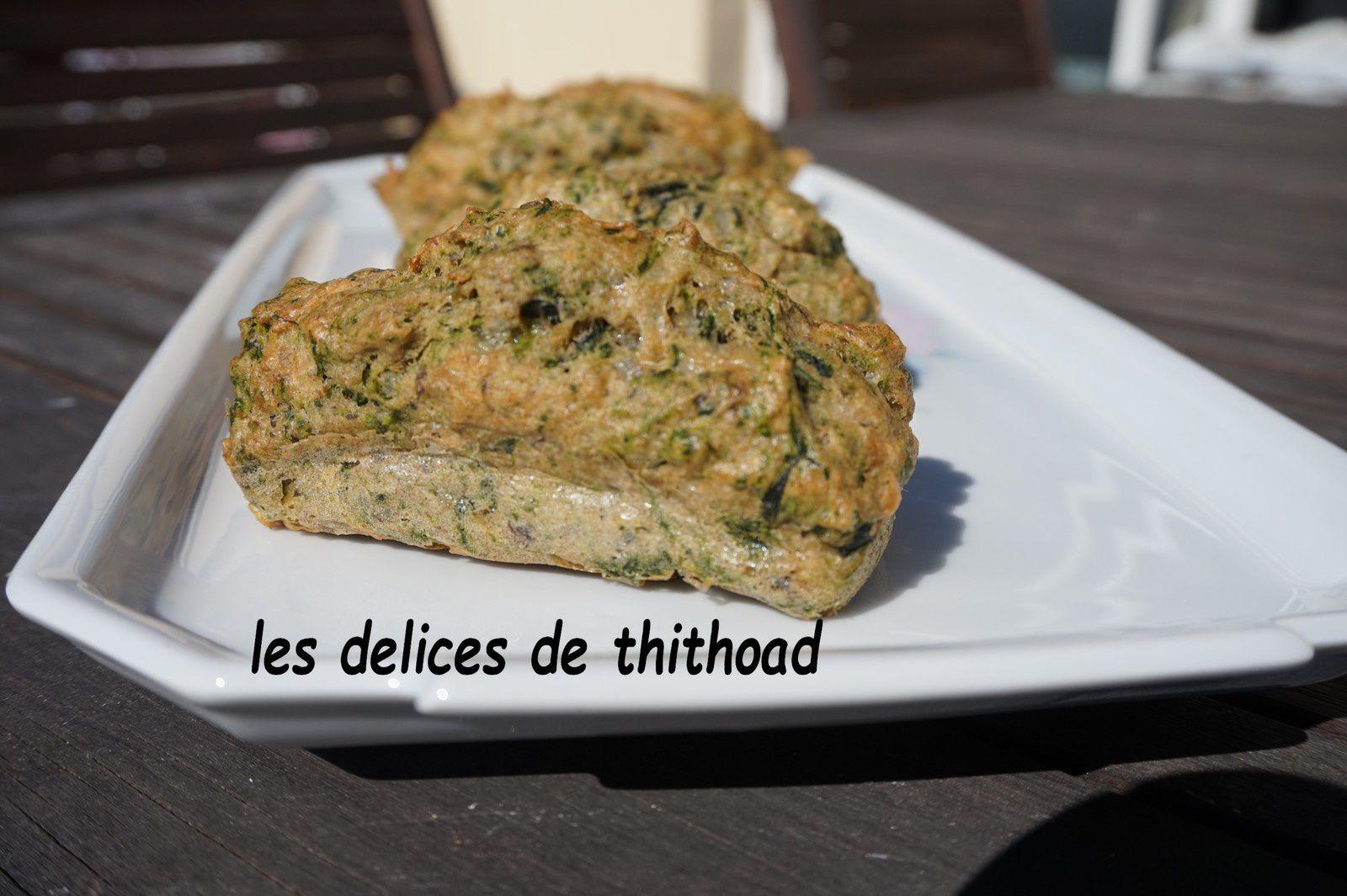 mini Breizh cakes aux épinards et sardines citronnées (recette Foire internationale de Rennes 2017)