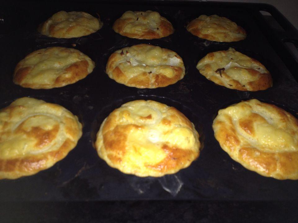 Muffins salés léger et moelleux