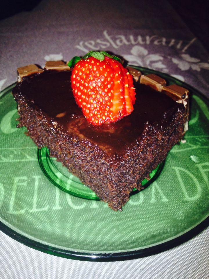 Gâteau au chocolat spongieux