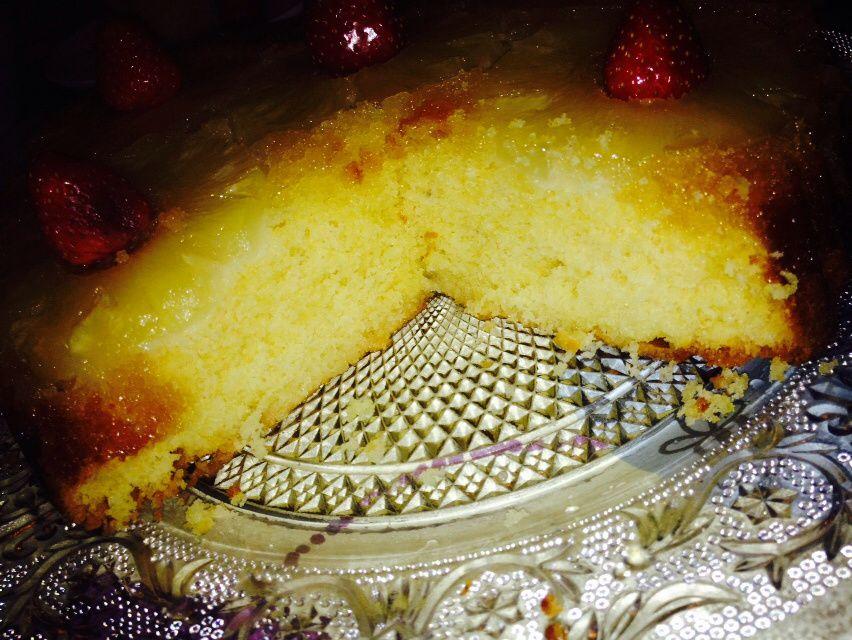 Gâteau léger renversé à l ananas