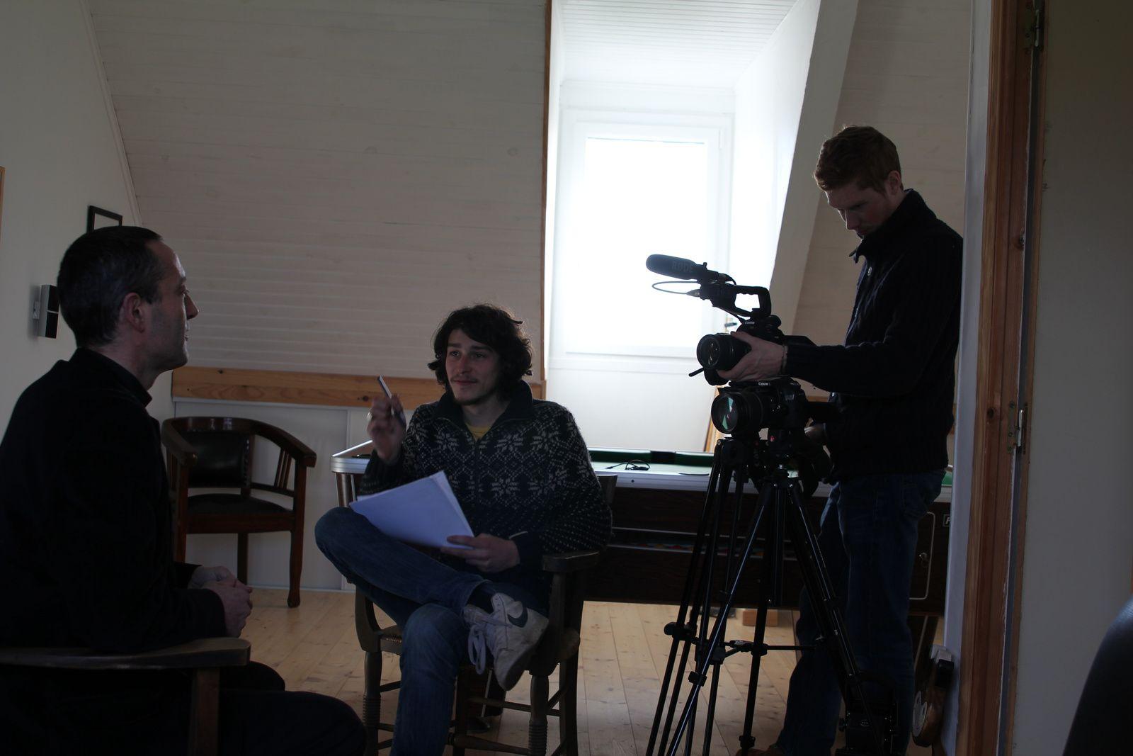 L'équipe N.E.O.S. Films en action.
