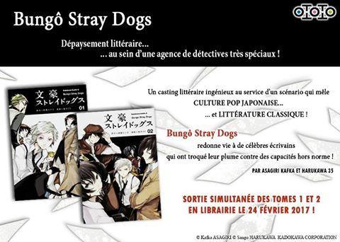 Bungô Stray Dogs chez Ototo Manga