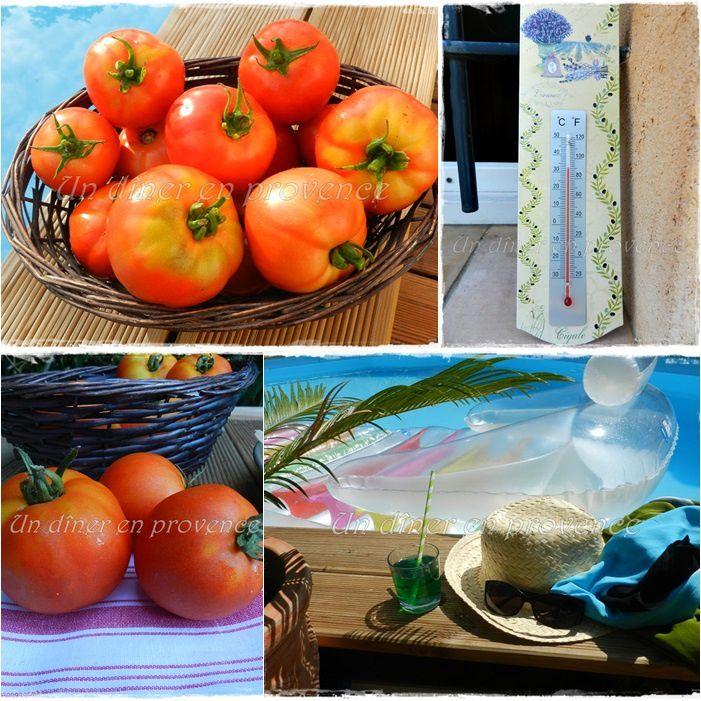 Tarte à la tomate, au comté et à la moutarde