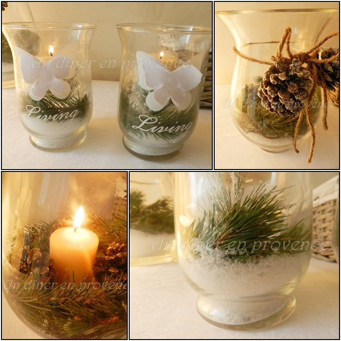 Decoration de noel nature - Idee de decoration de table pour noel ...