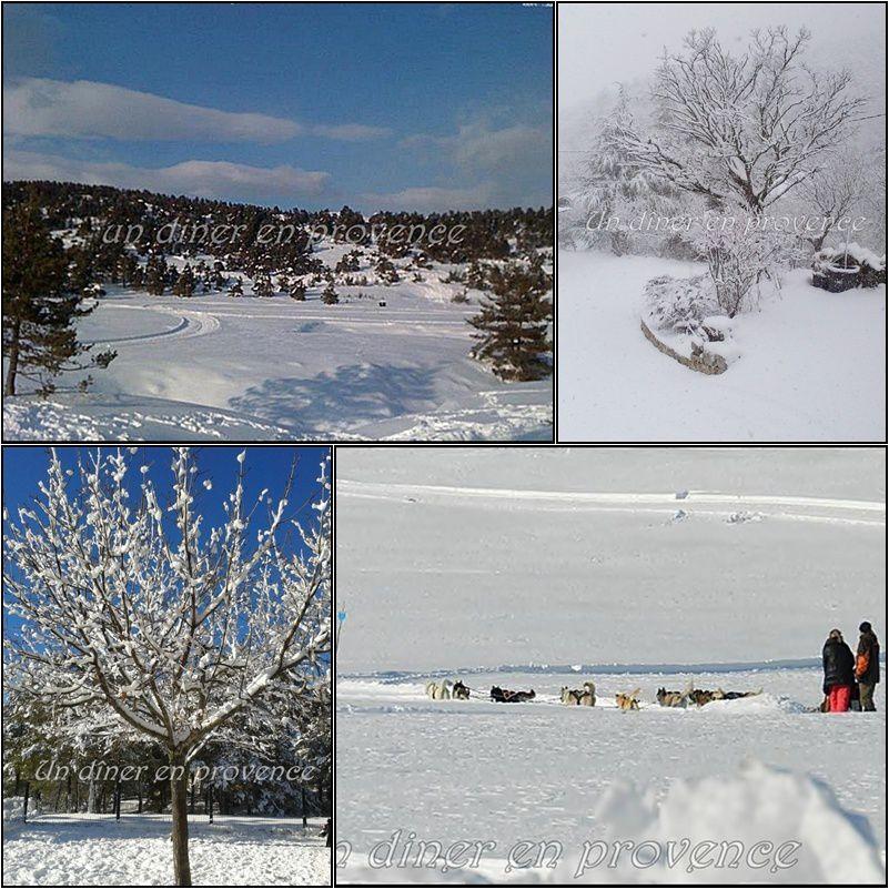 La Roque-Esclapon sous le neige (Var 83)