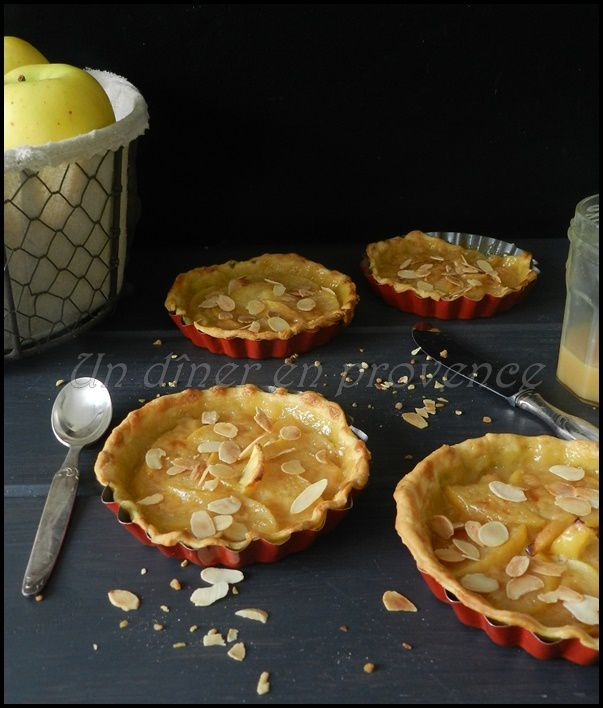 Tartelettes pommes &amp&#x3B; caramel beurre salé