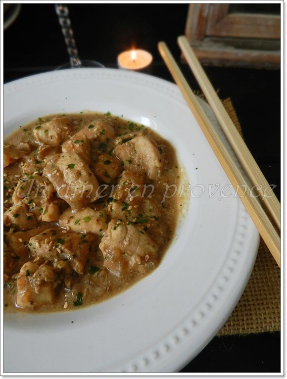 Poulet au coca & soupe à l'oignon déshydratée